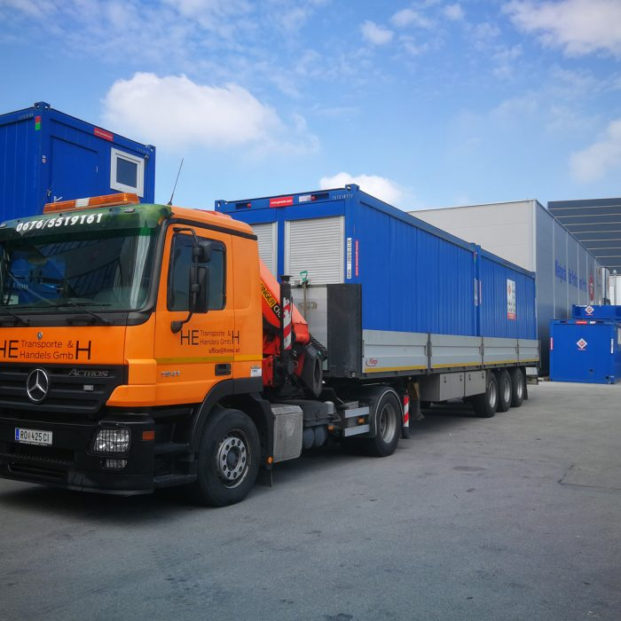 LKW MB Actros 1941 L – Containertransport