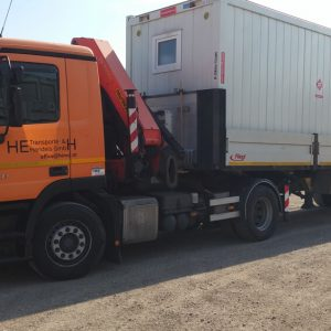 LKW MB ACTROS 1941l – Containertransport