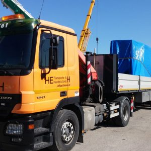 LKW MB ACTROS 1941l – Sondertransport